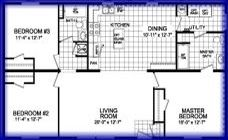 2852 205 206 1280 sq. ft.  $89,495 No Media.